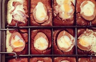 Creme Egg Brownie
