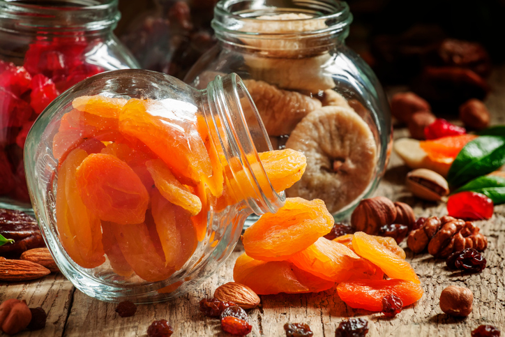 dried fruits healthy office snack