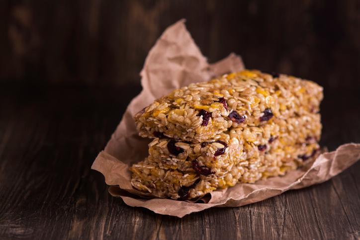 oatmeal bars healthy office snacks