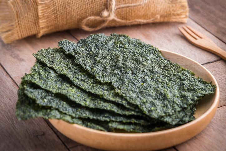 seaweed healthy office snacks