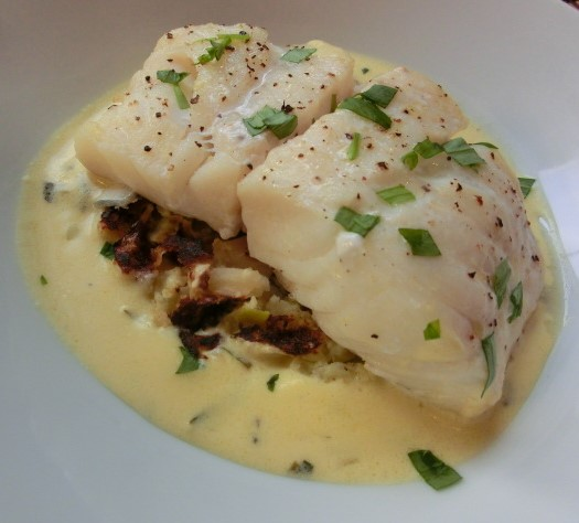 Zesty Cod Loin with Bubble and Squeak