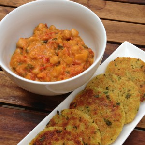 Coconut & Chick Pea Curry