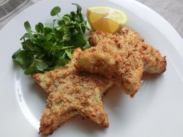 Baked Fishy Stars