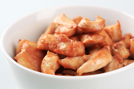 Caramelised Chicken Strips
