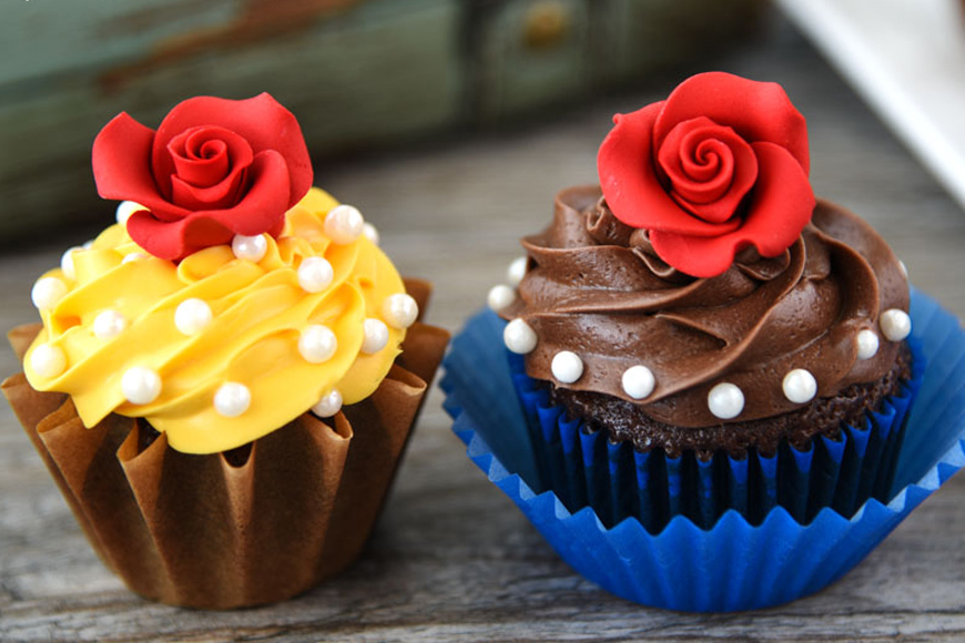 Yummy Beauty and the Beast Inspired Desserts
