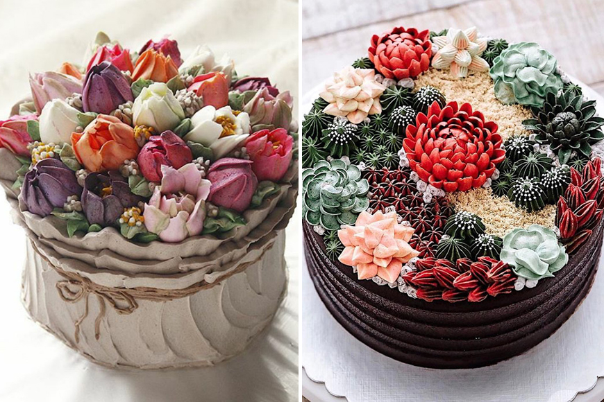 Flower Bouquets That Are Actually Cakes | ExpatWomanFood.com