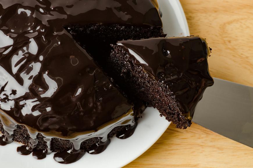 Cake cutting trick