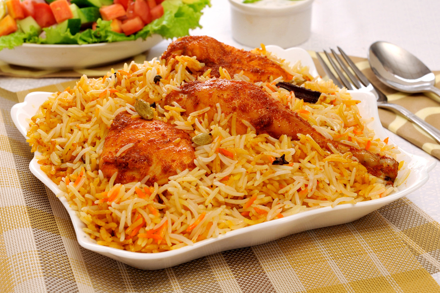 Homemade Chicken Biryani