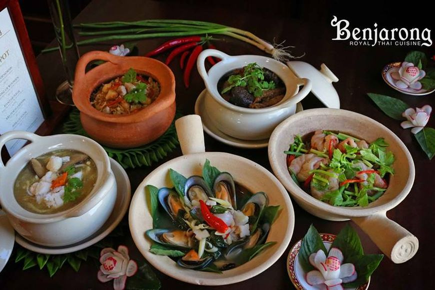 Review: Savour Thai Authentic Flavors in a Clay Pot at Benjarong Dusit Thani