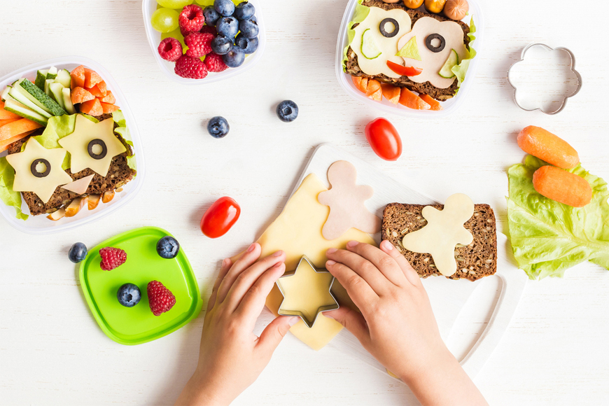 Lunchbox Sandwiches Fun Ideas