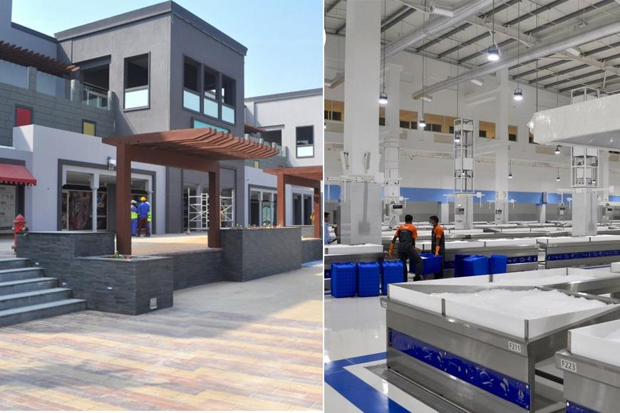 Dubai's Brand New Food Market Looks Like An Airport | ExpatWomanFood com