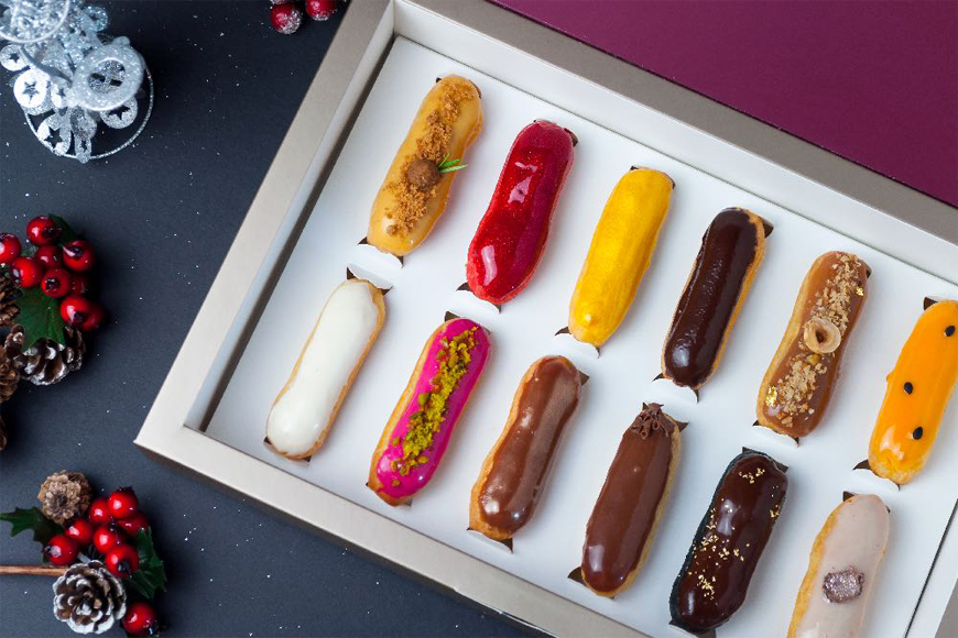 Win: 2 Boxes of Mini Éclairs by the finest Éclair Boutique in Dubai