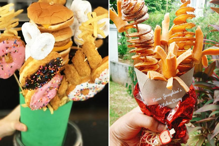 Fast Food Bouquets