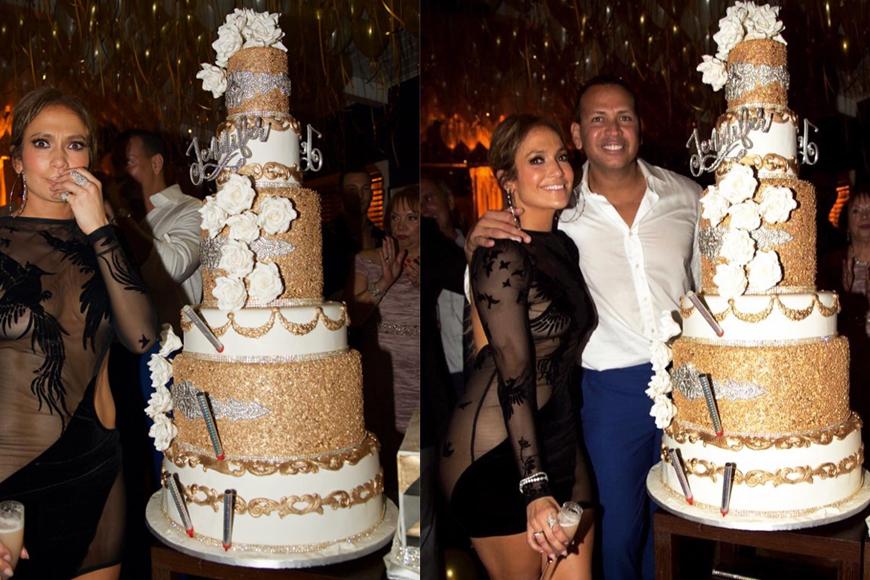 Jennifer Lopezs 48th Birthday Cake Was More Glamorous Than Her Cut