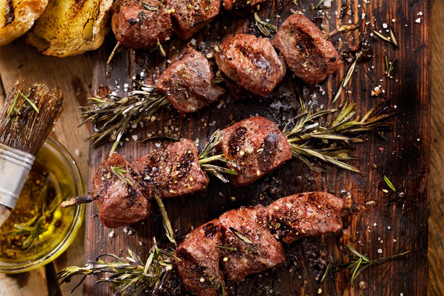 5 Kebab Skewers For A Healthy-ish Eid Dinner