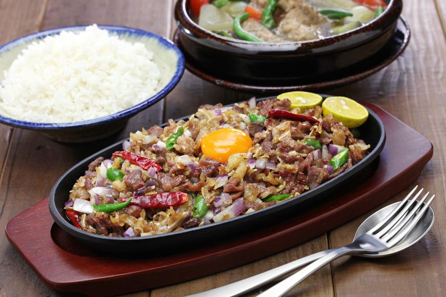 Sisig Filipino dish