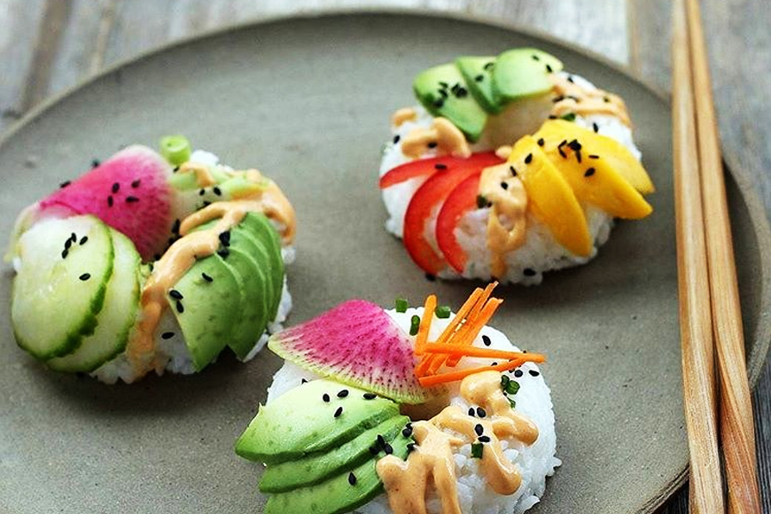 The Sushi Doughnut Trend is Weirdly Wonderful