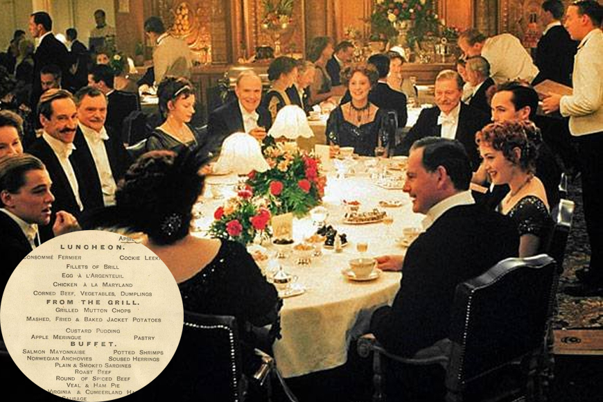 The Last Meal Served On Titanic