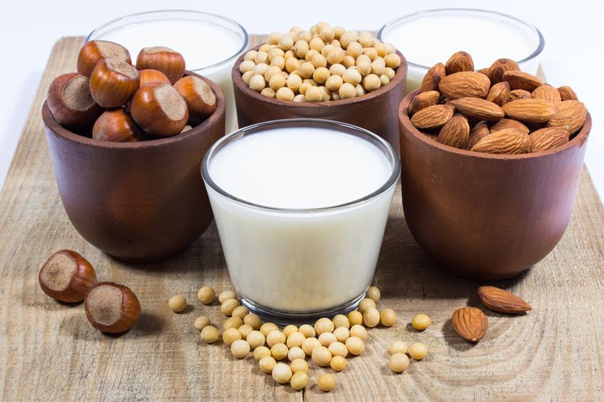 3 Healthy Vegan Milk Alternatives To Dairy