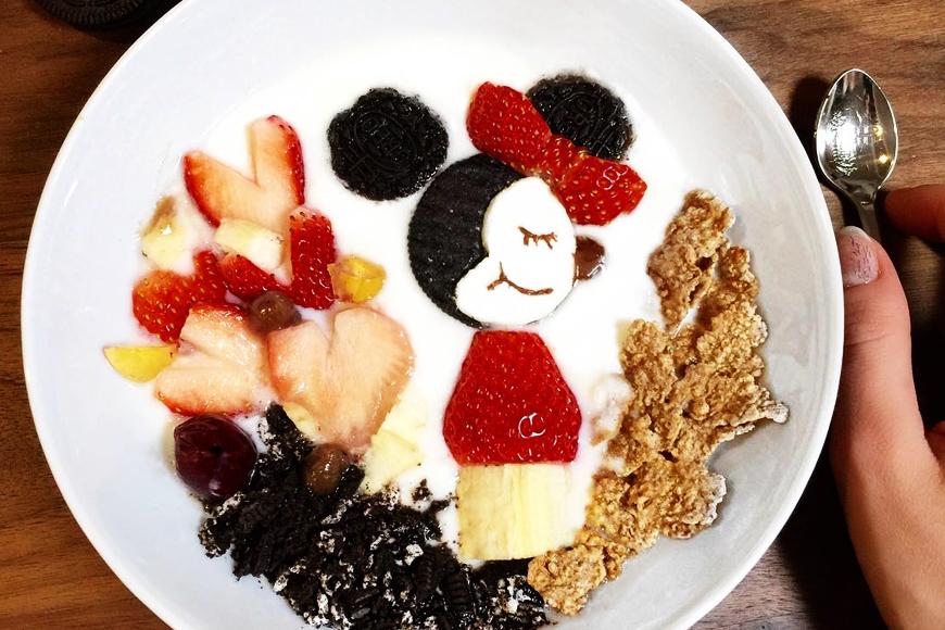 Yoghurt Art Trend