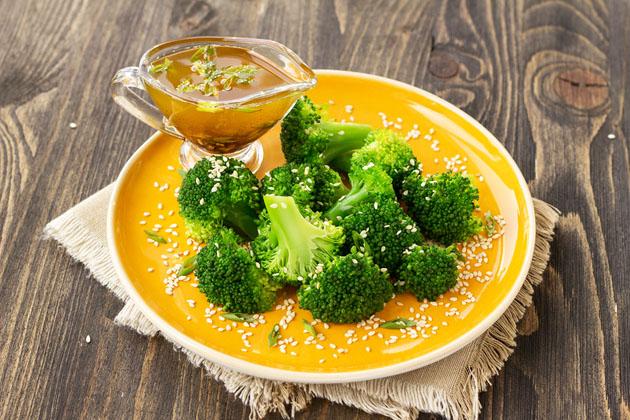 Broccoli with Black Bean-Garlic Sauce