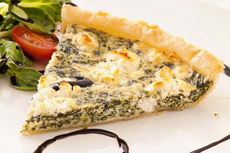 Spinach and Feta Tart