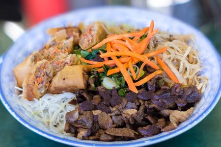 Vietnamese vermicelli salad