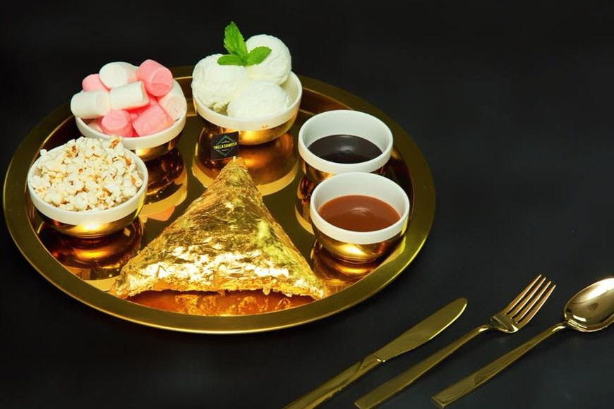 Where You Can Eat Foods Made of Gold in Dubai