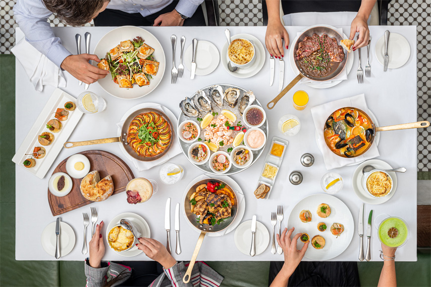 This Brand New French Evening Brunch Brings the Magic of Paris to Dubai