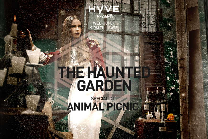 HYVE: Iris Yas Presents The Haunted Garden on Wednesday 31st October