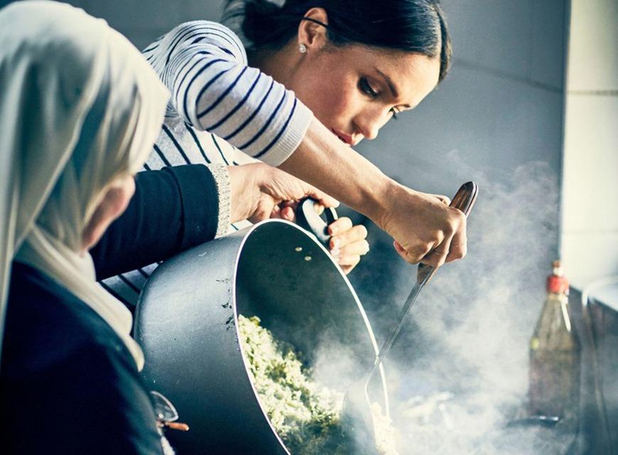 Meghan Markle, charity cookbook