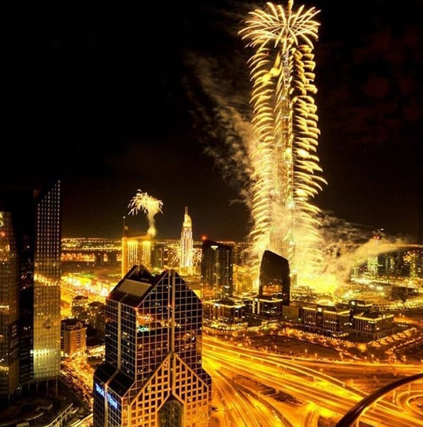 New Year's Eve Street Carnival Dinner Party at Dusit Thani Dubai