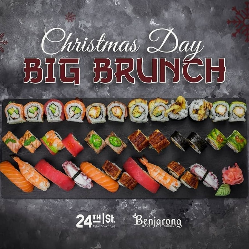 Christmas Day Big Brunch, Dusit Thani Dubai