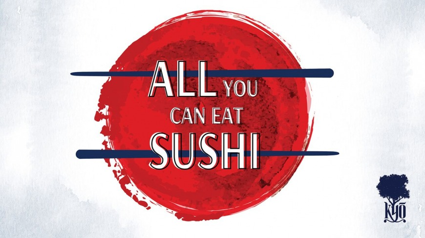 All You Can Eat Sushi at KYO