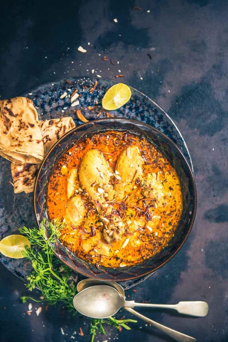 Almond Chicken Curry