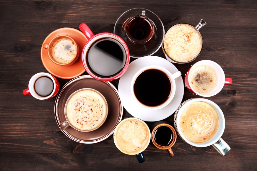 Avoid coffee to ward off thirst.