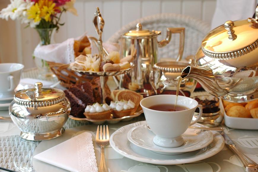 Earl Grey morning tea