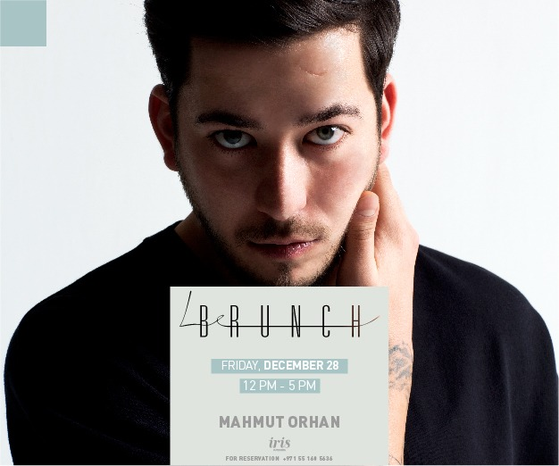 Iris Yas Presents: Mahmut Orhan Live on Friday 28th December 2018