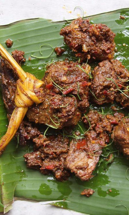 Stewed Beef Rendang