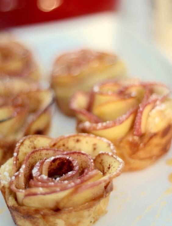 Apple Rose Tarts
