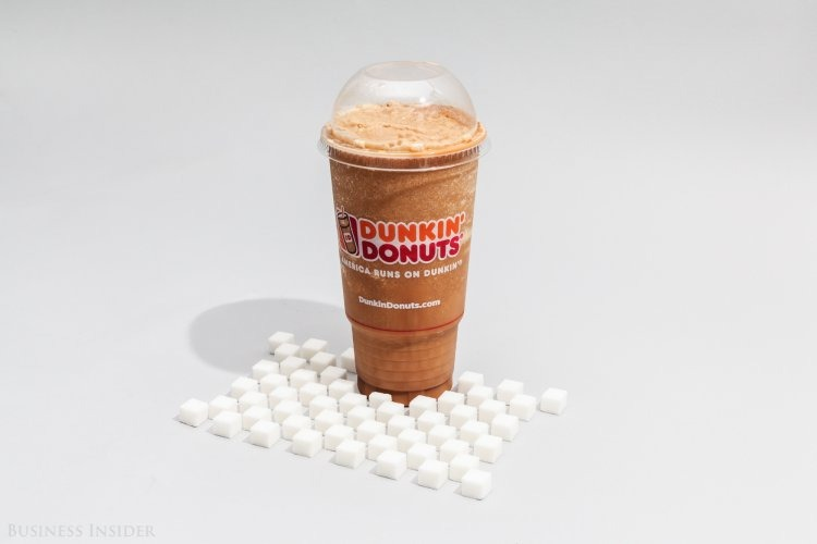 Frozen Dunkin' Coffee With Milk