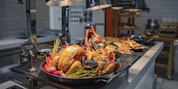 Christmas Eve dinner in Dubai