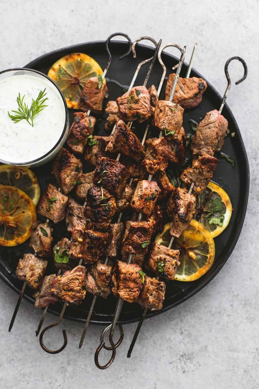 Beef Souvlaki Kebabs