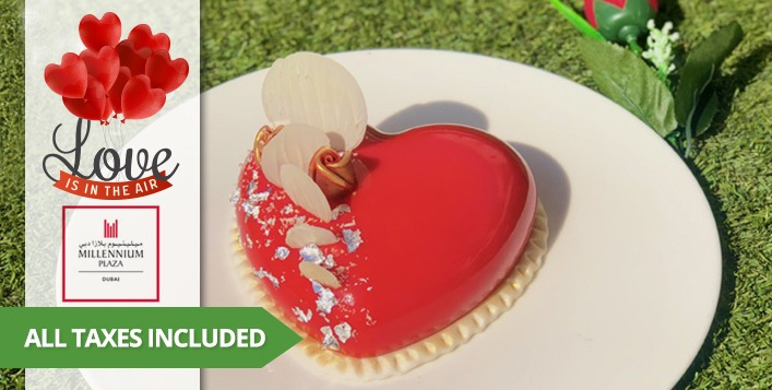 Valentine's Day cake deals in Dubai 2021