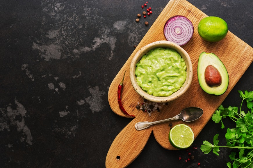 Guacamole and guacamole ingredients