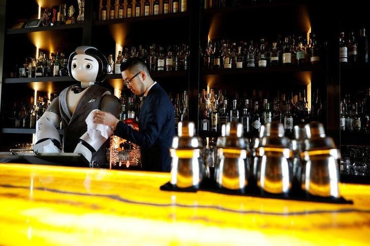 Robot bartenders in South Korea