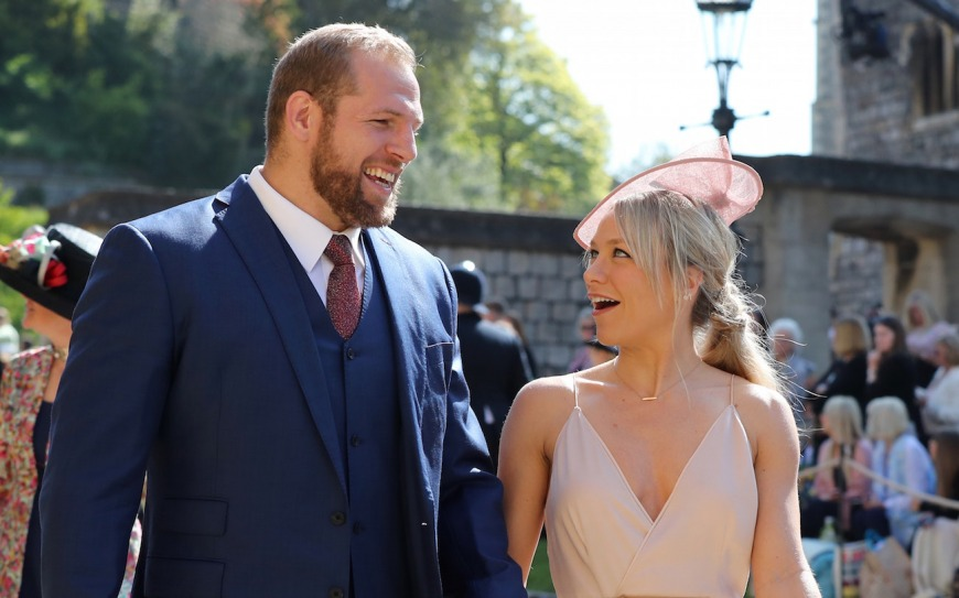 Rugby star James Haskell