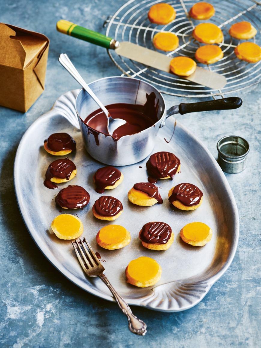 Vegan Jaffa Cakes