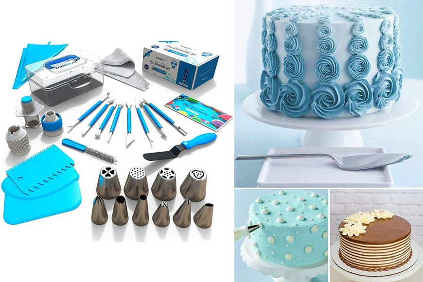 Russian Piping Tips and Cake Decorating Set