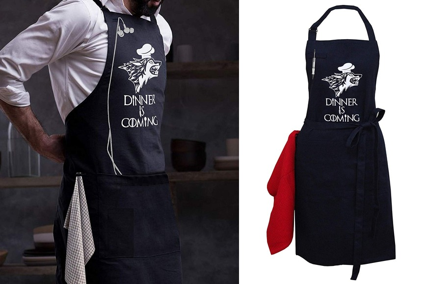 Game of Thrones Dinner is Coming Apron